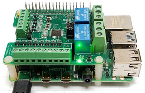TINKERplate – a Multifunctional I/O HAT for the Raspberry Pi