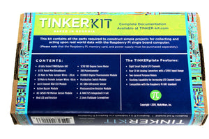 TinkerKit - add some juice to your Raspberry Pi
