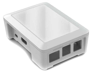 Cyntech Raspberry Pi Case for Pi 2 and Model B+ in White - Chicago Electronic Distributors
