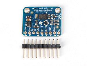 Adafruit ADXL345 - Triple-Axis Accelerometer (+-2g/4g/8g/16g) w/ I2C/SPI - Chicago Electronic Distributors  - 1