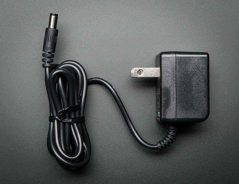 9 VDC 1000mA regulated switching power adapter - Perfect for Arduino! - Chicago Electronic Distributors  - 2