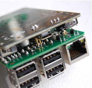 Big7: 7-Port USB Hub for Raspberry Pi