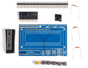 Adafruit Blue&White 16x2 LCD+Keypad Kit for Raspberry Pi - Chicago Electronic Distributors  - 2