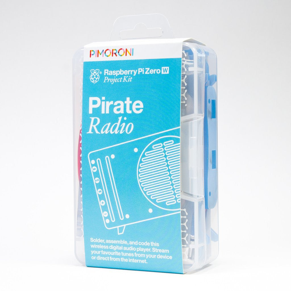 Pimoroni Pirate Radio - Pi Zero W Project Kit