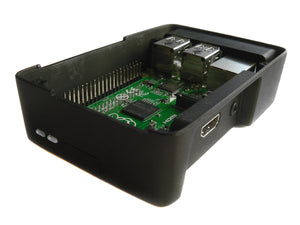 Cyntech Raspberry Pi Case for Pi 2 and Model B+ in Black - Chicago Electronic Distributors  - 4