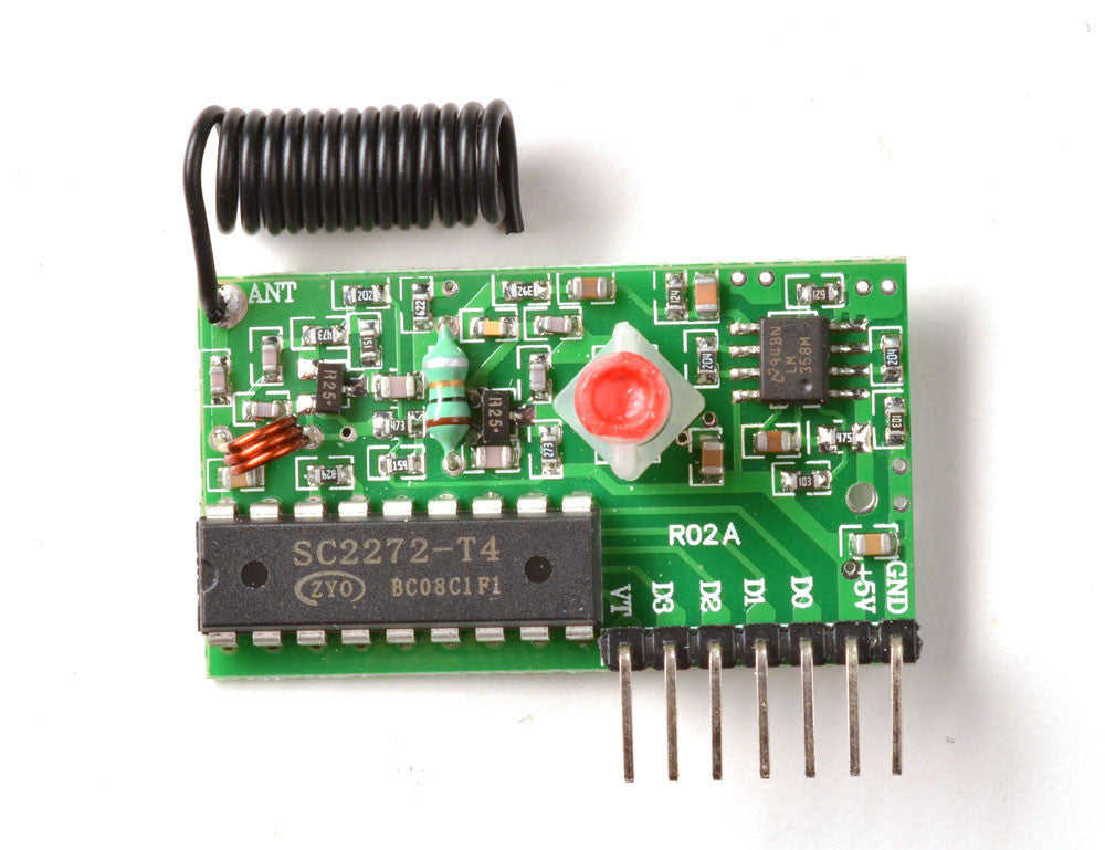 Simple RF T4 Receiver - 315MHz Toggle Type - Chicago Electronic Distributors  - 2