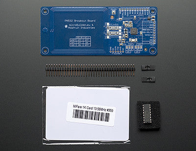 Adafruit PN532 NFC/RFID Controller Breakout Board for Arduino + Extras - Chicago Electronic Distributors  - 2