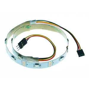WS2812 Rainbow LED strip 10 LED's, Breadboard Friendly