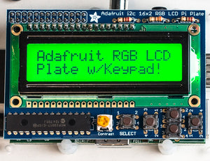 Adafruit RGB Positive 16x2 LCD+Keypad Kit for Raspberry Pi - Chicago Electronic Distributors  - 4