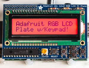 Adafruit RGB Positive 16x2 LCD+Keypad Kit for Raspberry Pi - Chicago Electronic Distributors  - 3