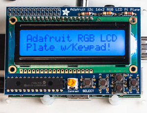 Adafruit RGB Positive 16x2 LCD+Keypad Kit for Raspberry Pi - Chicago Electronic Distributors  - 6