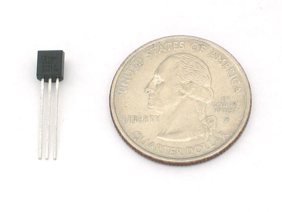 TMP36 - Analog Temperature sensor - Chicago Electronic Distributors