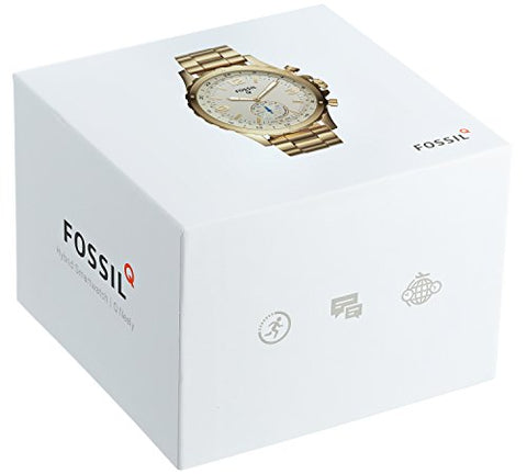Fossil Q Stainless Steel Hybrid Smartwatch - Diamond Wrist