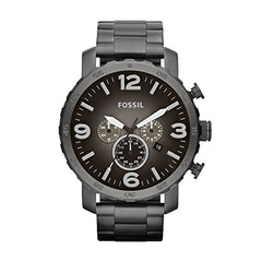 Fossil Men's Quartz Stainless Steel Chronograph - Diamond Wrist