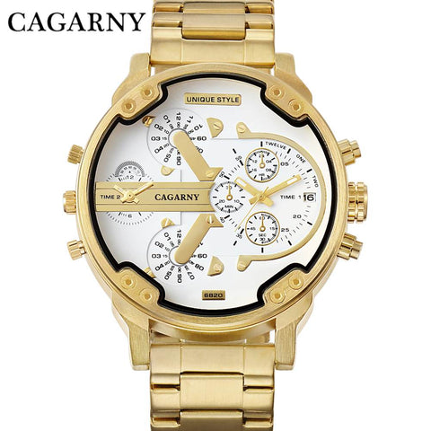 Cagarny Luxury Quartz - Diamond Wrist