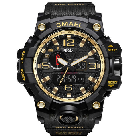 SMAEL LED Sport Quartz S Shock - Diamond Wrist