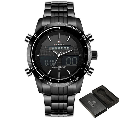 Naviforce Sport Quartz - Diamond Wrist
