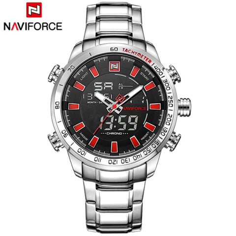 Naviforce LED Sport Quartz - Diamond Wrist