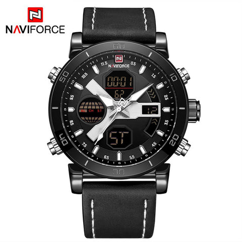 Naviforce Luxury LED Quartz - Diamond Wrist