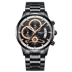 Nibosi Luxury Chronograph - Diamond Wrist
