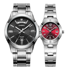Casio Couples Luxury Watches - Diamond Wrist