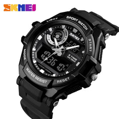 SKMEI Digital S Shock Sports Quartz - Diamond Wrist