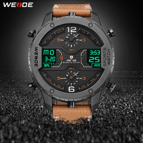 Weide Sport Quartz - Diamond Wrist