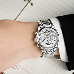 Dom Mechanical - Steel Belt - Diamond Wrist