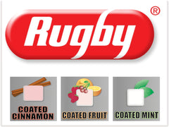 Rugby Coated Gum 100ct.