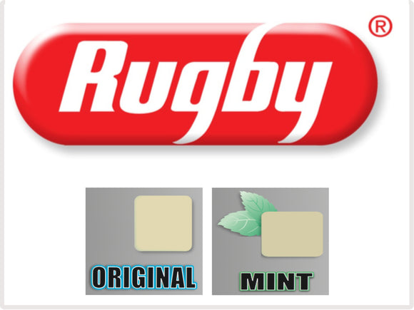 Rugby UnCoated Gum 110ct.