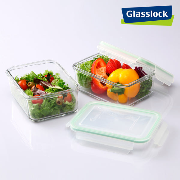 Taper Glasslock Classic Rectangular Hermético 1.9L
