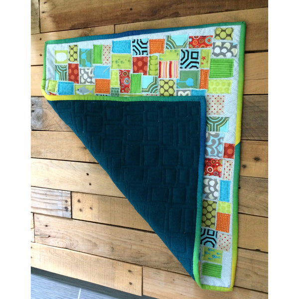 Under the Sea Mini Quilt - BabyLuxDesign