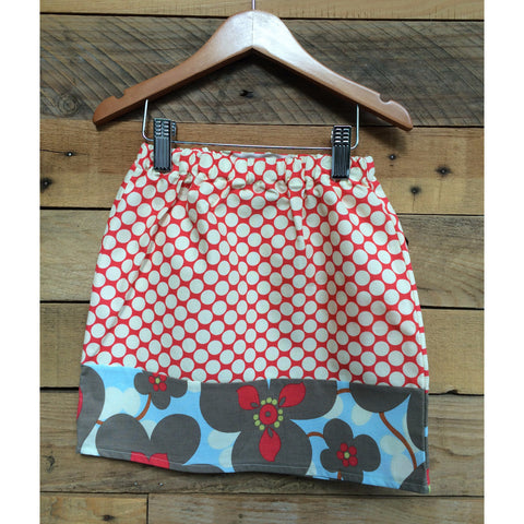 Cherry Polkadot Skirt - BabyLuxDesign