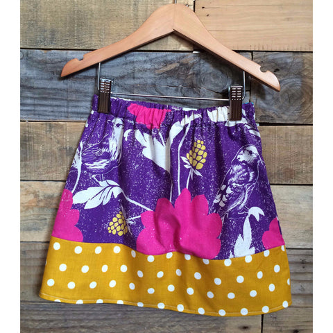 Dahlia Girls Skirt - BabyLuxDesign
