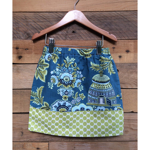 Royal Garden Girls Skirt - BabyLuxDesign
