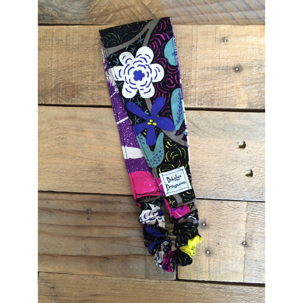 Baby Lux Design midnight bloom fabric headband