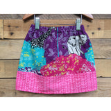 Girl's Safari Pink Skirt - BabyLuxDesign
