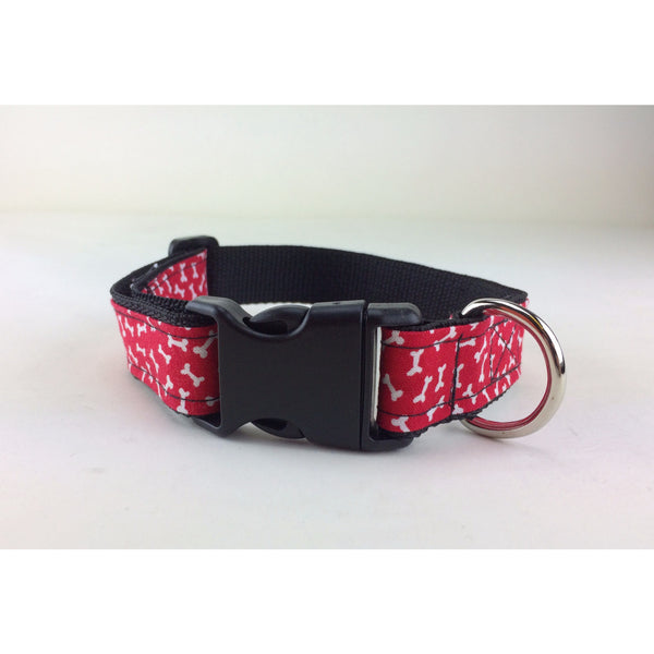 Baby Lux Design Confetti Bones Dog Collar