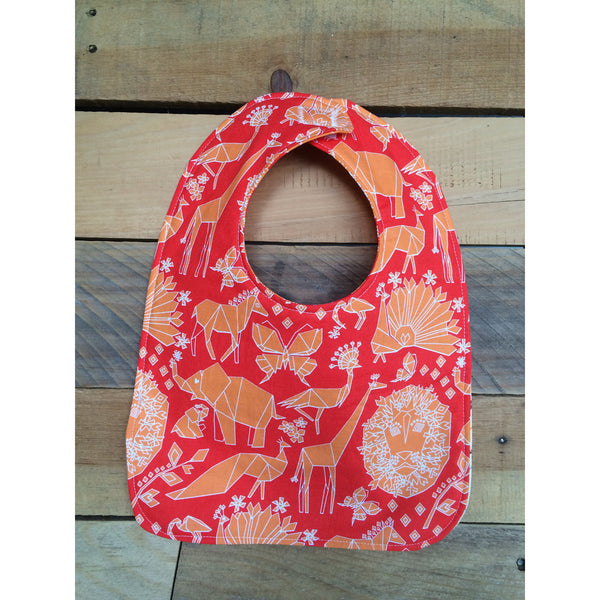 Origami Arrow Bib & Burp Cloth Set - BabyLuxDesign