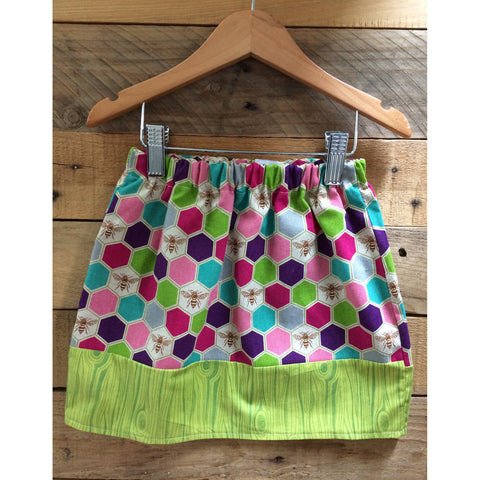 Honeycomb Skirt - BabyLuxDesign