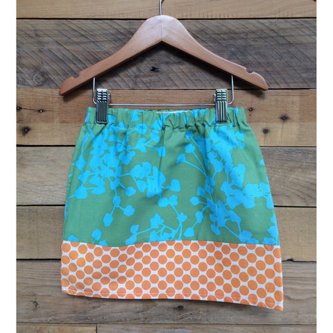 Sea Poppy Girls Skirt - BabyLuxDesign