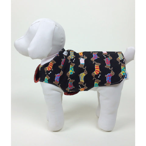 Hot Dogger Reversible Pup Coat - BabyLuxDesign