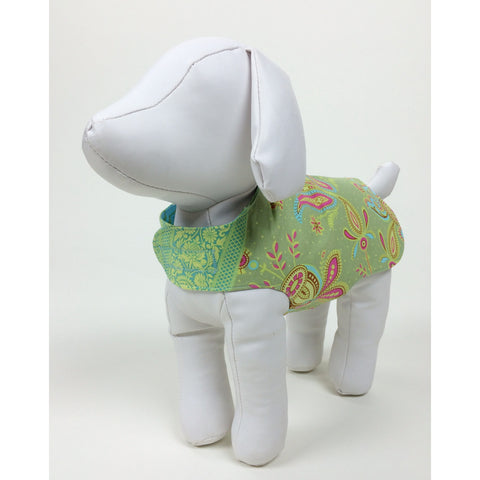 Paisley Reversible Dog Coat - Baby Lux Design