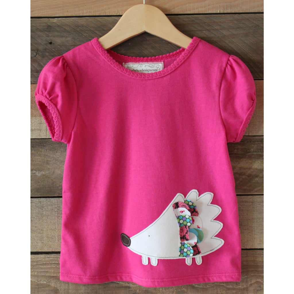 Baby Lux Design Hedge Hog girls t-shirt