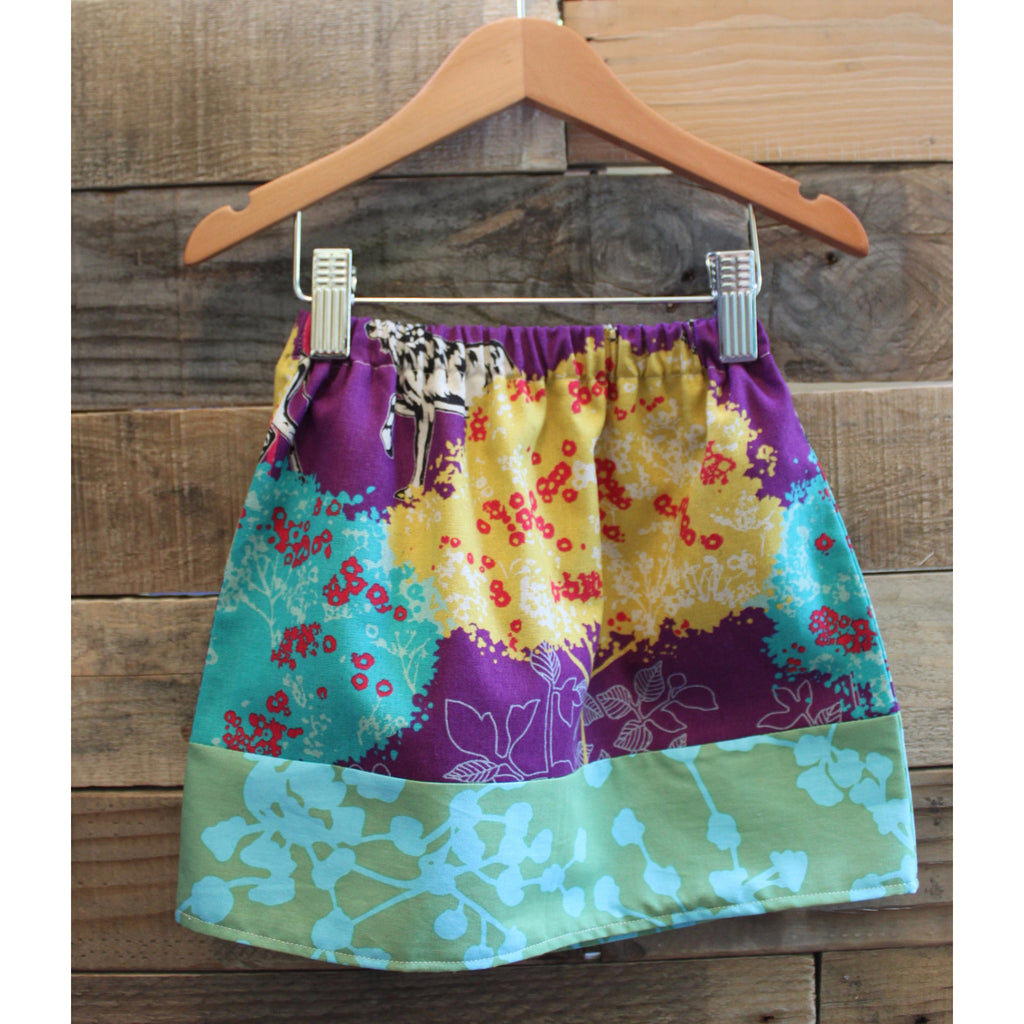 Safari skirt by Baby Lux Design