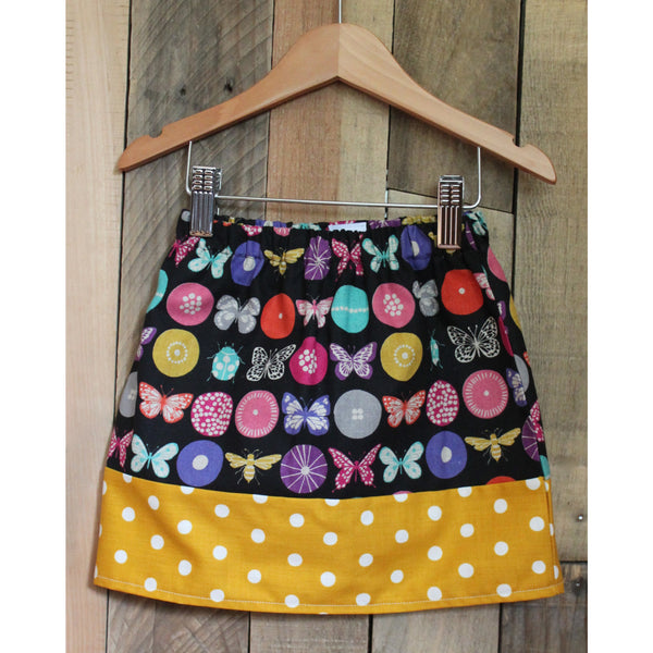 Girls Flutterbug Skirt - BabyLuxDesign