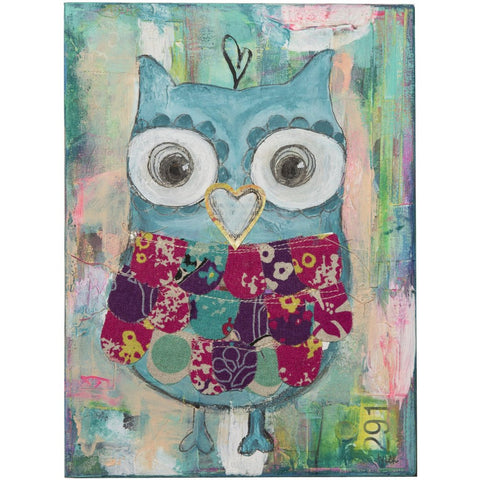 Hoot Amour Print - Baby Lux Design