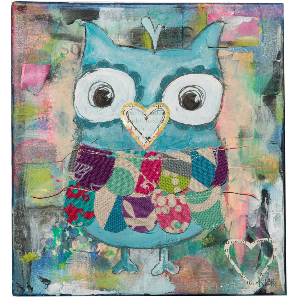 Owl Art Print by Tyler Larsen of Baby Lux Design