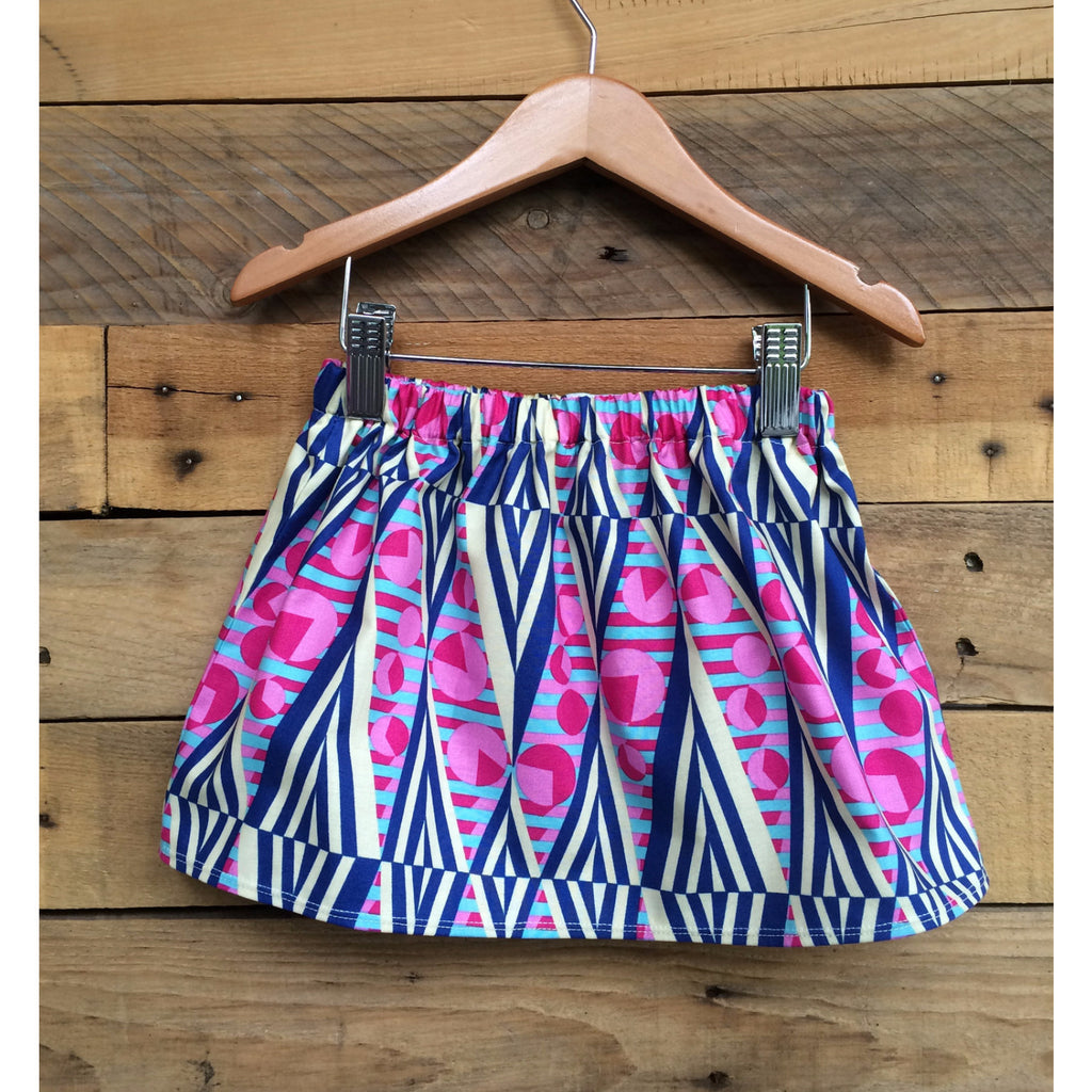 Itty-Bitty Mod Skirt - BabyLuxDesign