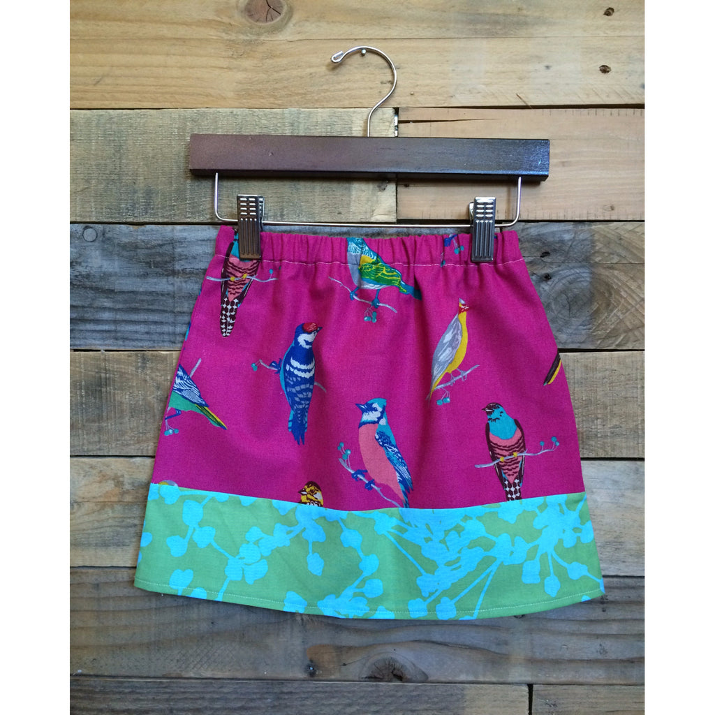Girls Birdy Skirt - BabyLuxDesign